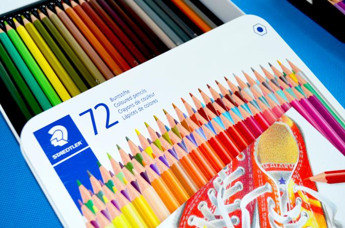 Creioane Colorate 72 culori Staedtler [3]