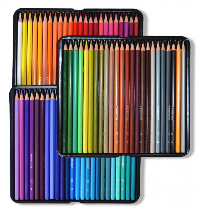 Creioane Colorate 72 culori Staedtler [1]