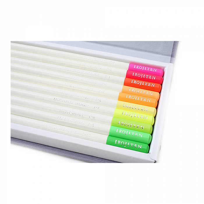 Creioane Colorate Irojiten Seascape 30 Culori Volum 7, 8, 9  Tombow [3]