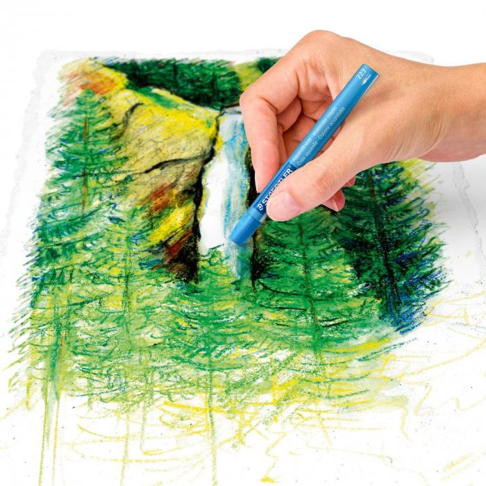 Creioane Colorate Karat Aquarelle 24 buc. Staedter 4