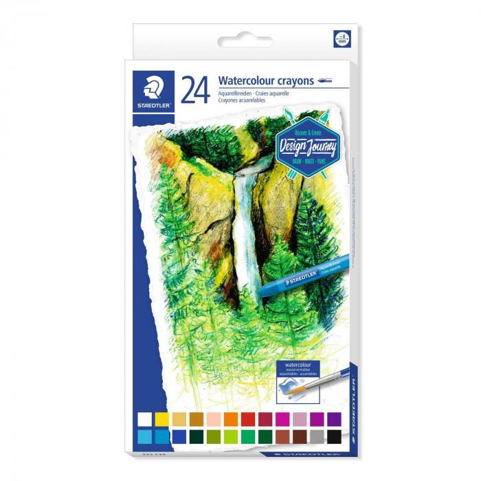 Creioane Colorate Karat Aquarelle 24 buc. Staedter 0