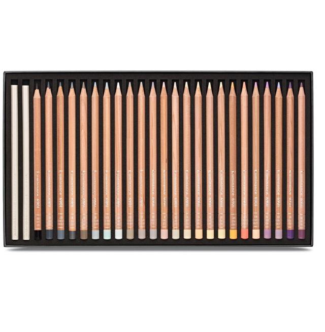 Creioane Colorate LUMINANCE 6901 76+2 culori Caran d'Ache [4]