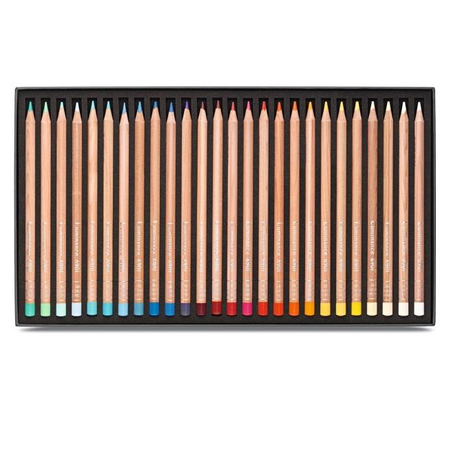 Creioane Colorate LUMINANCE 6901 76+2 culori Caran d'Ache [2]