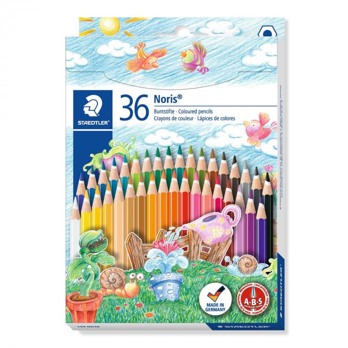 Creioane Colorate NORIS Aquarelle 36 Culori Staedtler [0]
