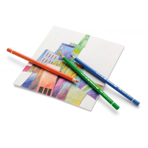 Creioane Colorate Polychromos 60 Culori Cutie Metal Faber-Castell 3