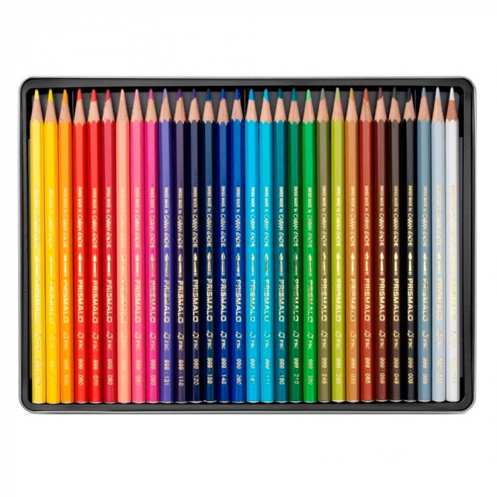 Creioane Colorate PRISMALO AQUARELLE 30 culori Caran d'Ache [2]