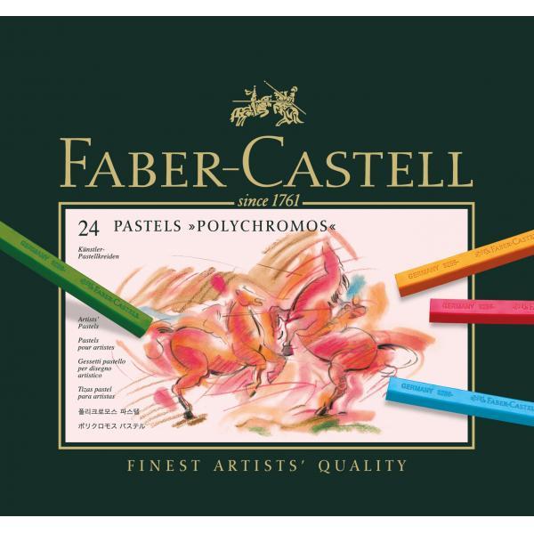 CREIOANE PASTEL 24 CULORI POLYCHROMOS Faber-Castell 0