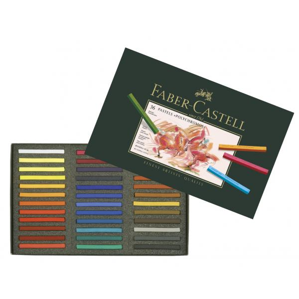 Creioane Pastel 36 Culori Polychromos Faber-Castell 1