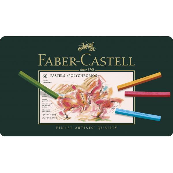 Creioane Pastel 60 Culori Polychromos Faber-Castell 2
