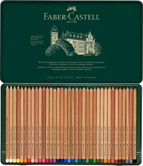 Creioane Pastel Pitt 36 Culori Faber-Castell 2
