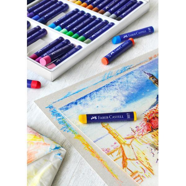 Creioane Ulei Pastel 12 Culori Faber-Castell 1