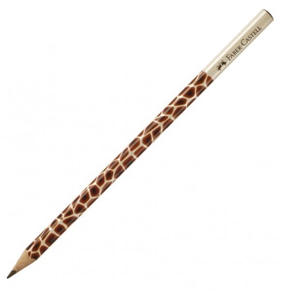 Creion Grafit B Cu Modele - model girafa Faber-Castell [0]