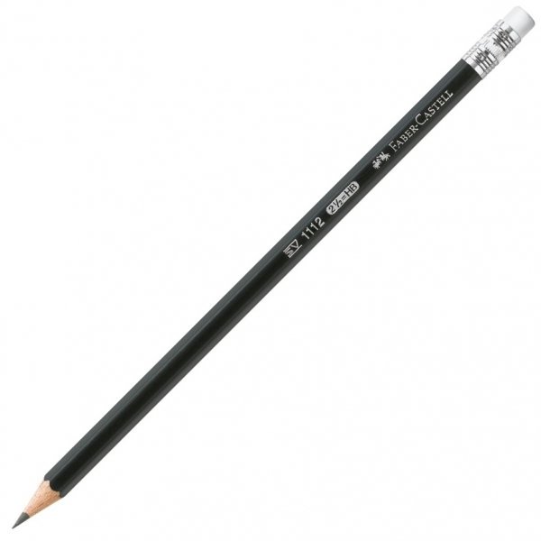 Creion Grafit Cu Guma 1112 HB Faber-Castell 0