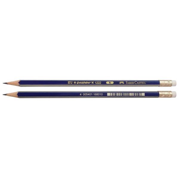Creion Grafit Cu Guma Goldfaber 1221 Faber-Castell 1