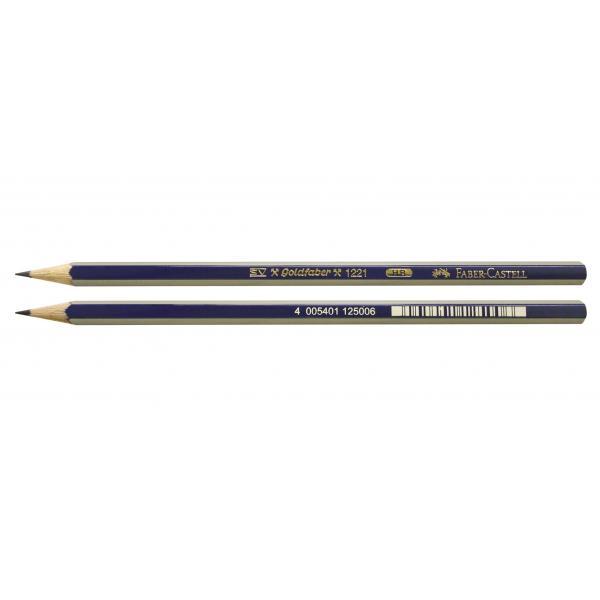 Creion Grafit Goldfaber 1221 HB Faber-Castell 1