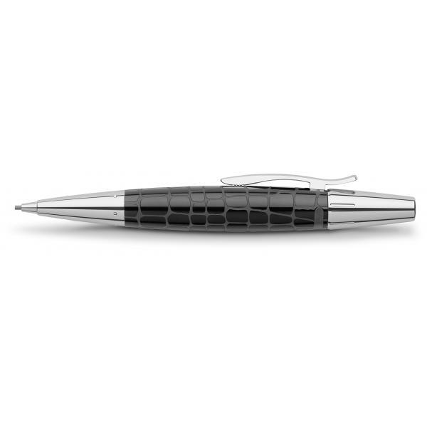 Creion Mecanic 1.4 mm E-Motion Croco Negru Faber-Castell 1