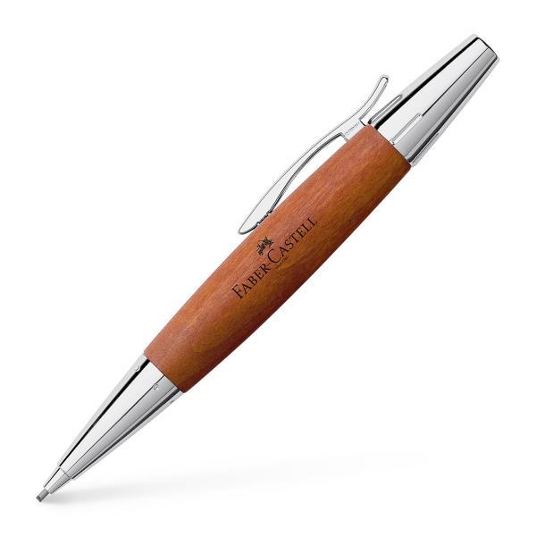 Creion Mecanic 1.4 mm E-Motion Pearwood / Maro Deschis Faber-Castell [0]
