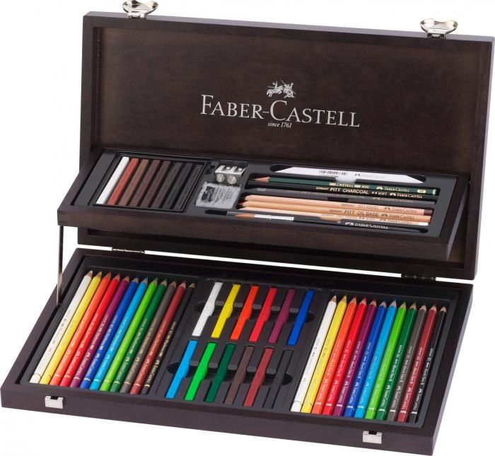 Cutie Lemn Art&Graphic 54 Buc Faber-Castell 0