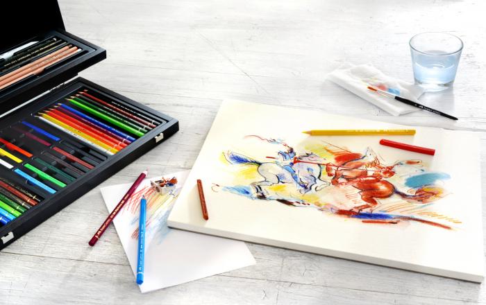 Cutie Lemn Art&Graphic 54 Buc Faber-Castell 2