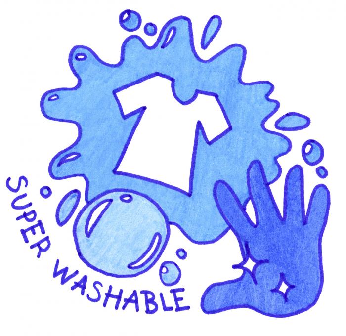 Carioci Super Washable 12 culori Faber-Castell 1
