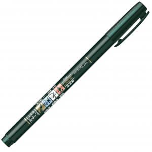 Marker Caligrafic Soft Fudenosuke Large Writing Black - Tombow [2]