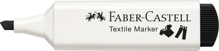 Marker Textil Negru Faber-Castell [1]