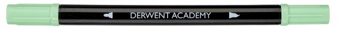 Markere cu 2 capete - varf tip pensula si varf fin, 8 buc/set Derwent Academy [5]