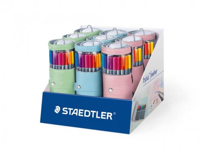 Penar 20 culori Fineliner Triplus Color 334  0.3 mm Staedtler [4]