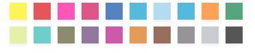 Penar 20 culori Fineliner Triplus Color 334  0.3 mm Staedtler [1]