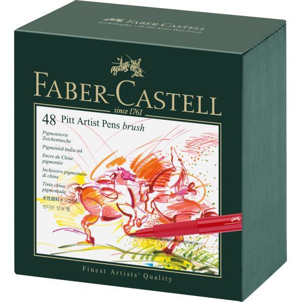 Pitt Artist Pen Cutie Studio 48 buc Faber-Castell [0]