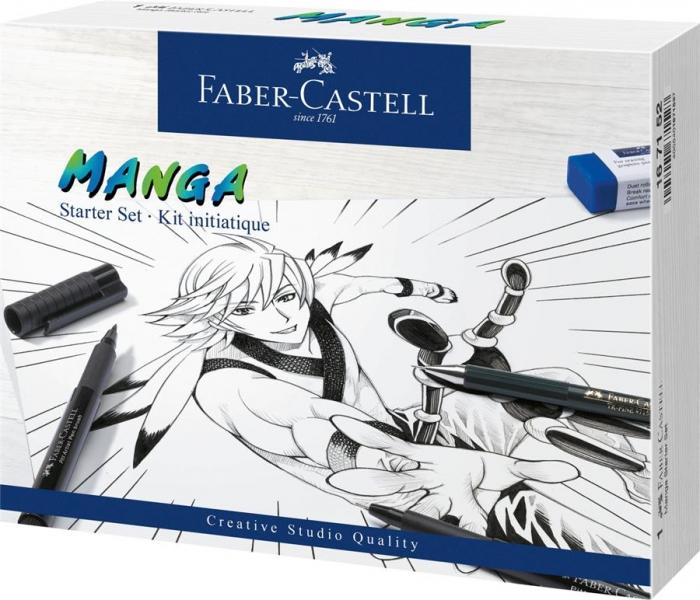 Pitt Artist Pen Manga Starter Faber-Castell 0