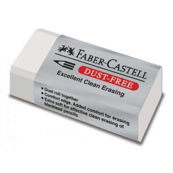 Radiera Creion Dust Free 30 Faber-Castell [0]