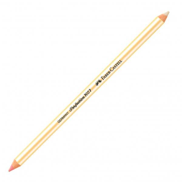 Radiera Creion Perfection radiera 1/2 roz, 1/2 alba Faber-Castell [0]
