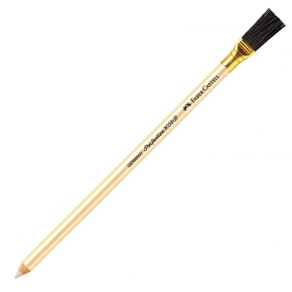 Radiera Creion Perfection radiera alba cu pensula Faber-Castell 0