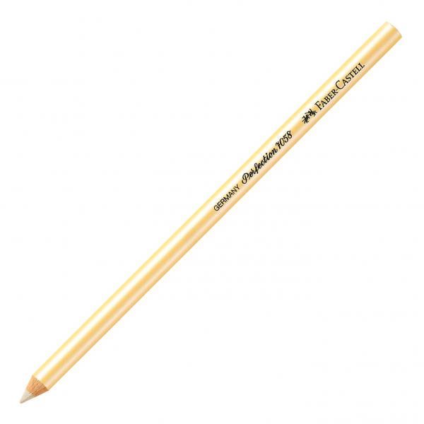 Radiera Creion Perfection radiera alba Faber-Castell [0]