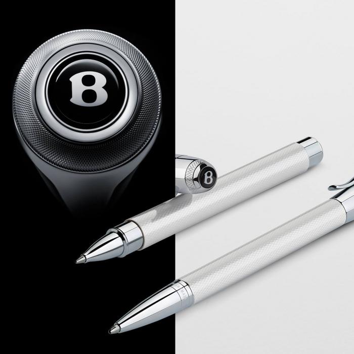 Roller Bentley White Satin Graf Von Faber-Castell 3