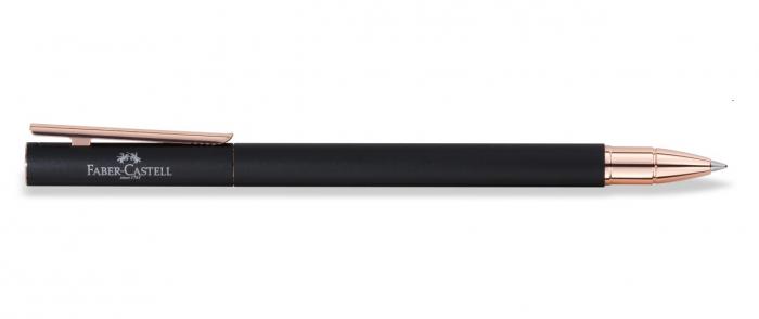 Roller Neo Slim Metal Black Rosegolden Faber-Castell [2]