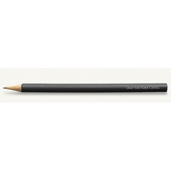 Creioane Guilloche Lungi Negru Set 6 Buc Graf Von Faber Castell [1]