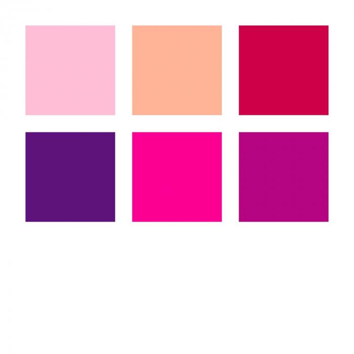 Set 6 culori Carioca Triplus Color 323 Flamingo 1.0 mm Staedtler 2