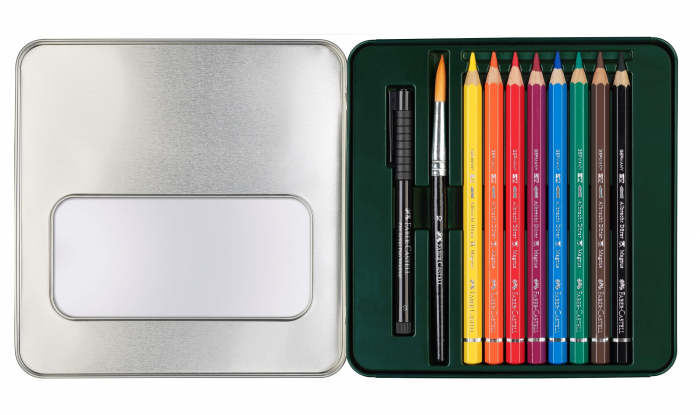Set 8 Creioane A.DURER MAGNUS+1PAP+PENSULA Faber-Castell [1]
