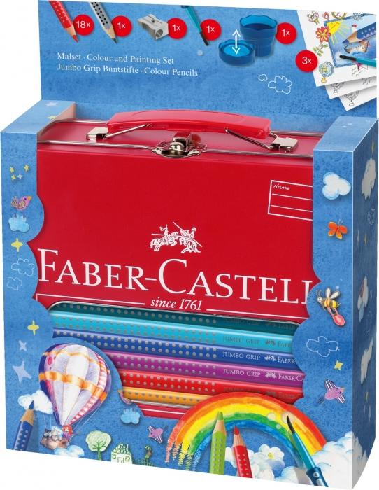 Set Cadou Desen Si Pictura Jumbo Grip Faber-Castell [0]