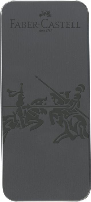 Set Cadou Stilou si Pix Grip 2011 Gri Antracit Faber-Castell 1