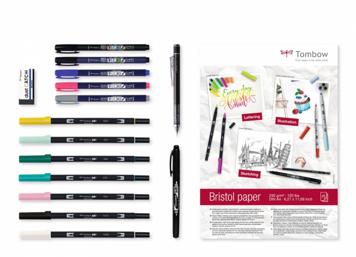 Set Creativ LETTERING Have Fun @ Home Sets Tombow [0]