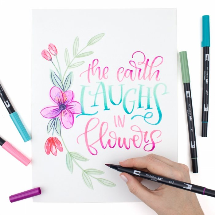 Set Creativ LETTERING Have Fun @ Home Sets Tombow [2]