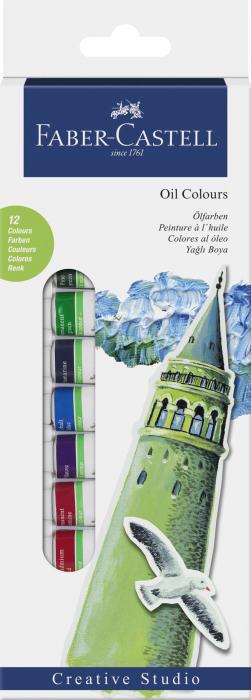 SET CULORI ULEIURI 12 CULORI 12ML Faber-Castell 0
