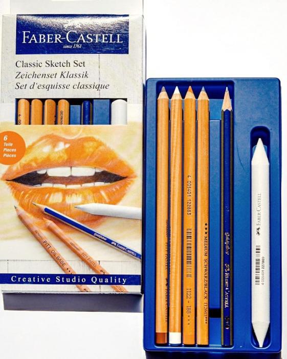 Set Desen 6 Buc Pentru Schite Faber-Castell [1]