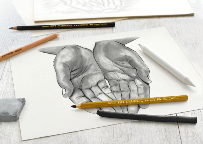 Set Desen Carbune Faber-Castell 1