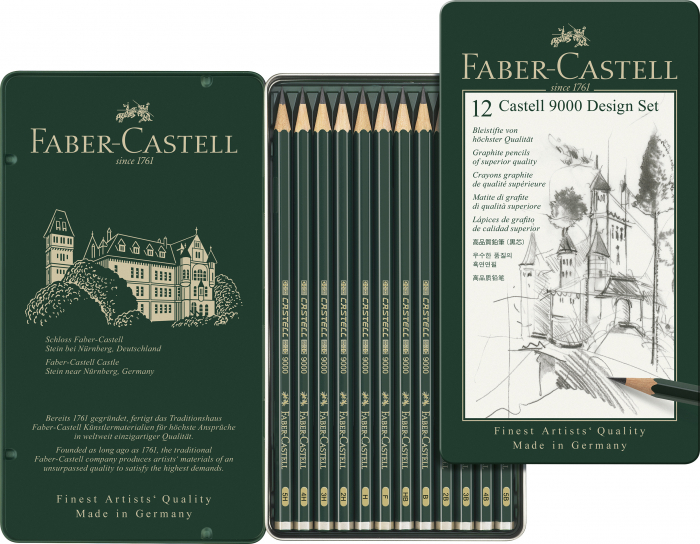 Set Design Creion Grafit Castell 9000 Faber-Castell [0]
