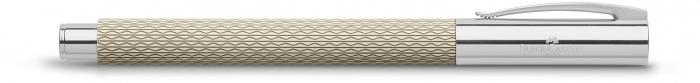 Set Promo Stilou Ambition OpArt White Sand + Agenda A6 Faber-Castell 2