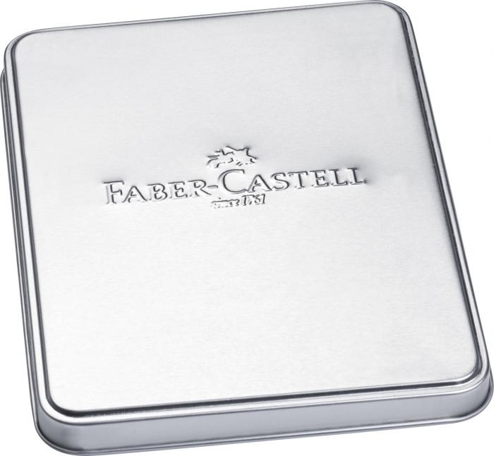 Set Stilou + Pix Neo Slim Metal Black Rosegolden Faber-Castell [4]